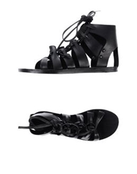 H By Hudson Sandals Rust