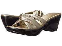 Athena Alexander Gayle Champagne Women's Dress Sandals Gold
