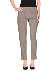 Brooksfield Casual Pants Grey