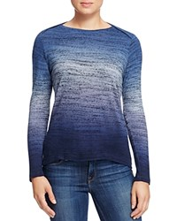 Red Haute Marled Ombre Sweater Blue