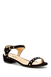 Charles Albert Short Heel Sandal Black