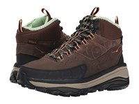 Hoka One One Tor Summit Mid Wp Brown Patina Green Women's Hiking Boots