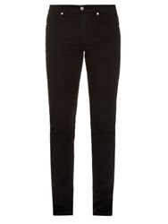 Mcq By Alexander Mcqueen Slim Fit Stretch Cotton Blend Jeans Black