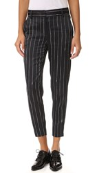 Dkny Tailored Relaxed Pants Black Gesso