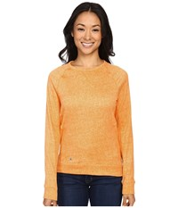Spyder Blayze Top Edge Washed Print Women's Long Sleeve Pullover Yellow