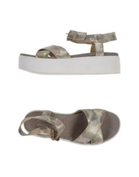 Janet Sport Sandals Light Grey
