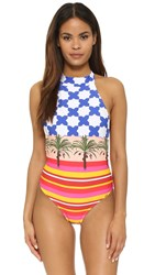 Salinas Marrakech High Neck Maillot Multi