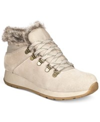 Bare Traps Grazie Lace Up Cold Weather Booties Women's Shoes Taupe