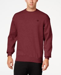 Champion Men's Powerblend Fleece Sweatshirt Maroon