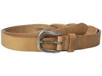Liebeskind Douglas Vintage Leather Belt Nature Belts Neutral