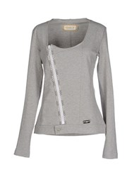 Met Topwear Sweatshirts Women Grey