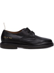 Common Projects Classic Derby Shoes Black