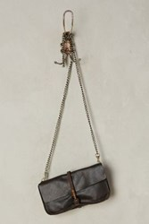 Anthropologie Dakota Clutch Espresso Black