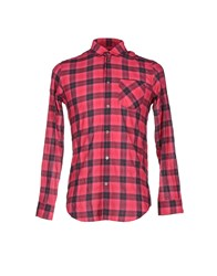 Marc By Marc Jacobs Shirts Shirts Men Fuchsia