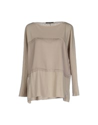 Bp Studio Topwear T Shirts Women Beige