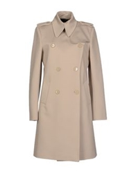 Strenesse Gabriele Strehle Full Length Jackets Beige