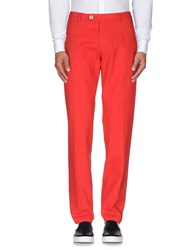 Berwich Trousers Casual Trousers Men Red