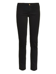 Mih Jeans Paris Mid Rise Cropped Jeans
