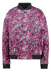 Just Cavalli Bomber Jacket Pink