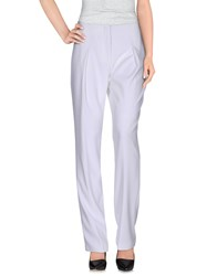 Karl Lagerfeld Trousers Casual Trousers Women White