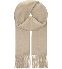 Mulberry Classic Cashmere Scarf Oatmeal