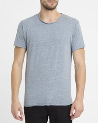 Revolution Mottled Grey 1003 Vintage Round Neck T Shirt