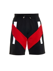 Givenchy Tri Colour Jersey Track Shorts