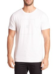 Wesc Graphic Printed Short Sleeve Tee White