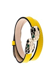 Bulgari 'Serpenti Forever' Bracelet Yellow And Orange