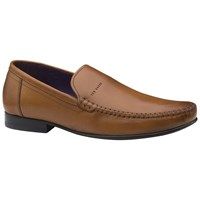 Ted Baker Simeen Round Toe Moccasins Tan