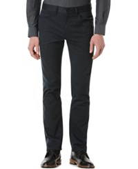 Perry Ellis Slim Fit Heathered Jeans Black