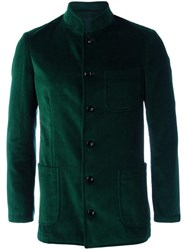 Massimo Piombo Mp Buttoned Jacket Green