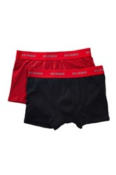 Ben Sherman Boxer Trunk Pack Of 2 Red