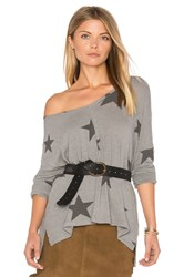 Sundry Seamed Long Sleeve Tee Grey