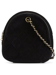 Chanel Vintage Quilted Pouch Black