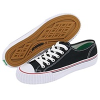 Pf Flyers Center Lo Re Issue Black Canvas Lace Up Casual Shoes