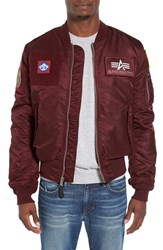 Alpha Industries Men's Reversible Slim Flex Ma 1 Bomber Jacket