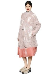 Antonio Marras Embroidered Cotton Lace Coat