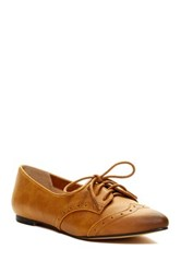 Restricted Like Me Point Toe Oxford Brown