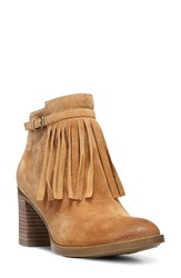 Naturalizer Women's 'Fortunate' Fringe Bootie Camelot Suede
