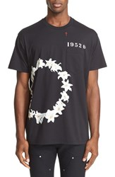 Givenchy Men's 'Lily Ring' Graphic Pocket T Shirt