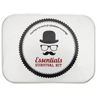John Lewis Gentleman's Essentials Survival Kit Silver
