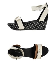 Diesel Sandals Black
