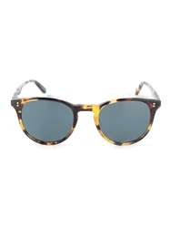 Garrett Leight Round Sunglasses Brown