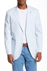 Tailorbyrd Two Button Notch Lapel Sports Jacket Blue
