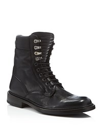 Rag And Bone Rag And Bone Spencer Military Boots Black