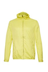 French Connection Aura Casual Full Zip Bomber Jacket Yellow