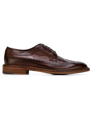 Paul Smith 'Lincoln' Brogues Pink And Purple