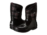 Bogs Classic Winter Plaid Mid Black Multi Women's Pull On Boots