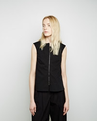 Jil Sander Tilt Sleeveless Top Black